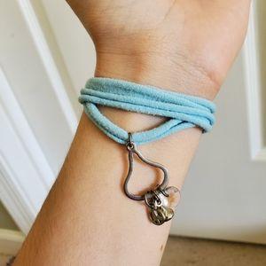 💜 Hershey's Kiss Charm Wrap Bracelet